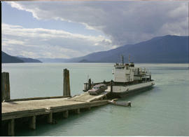 Disembarking Galena Bay Ferry, Upper Arrow Lake