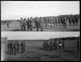 The Duke of Connaught meets with 143rd and 231st officers