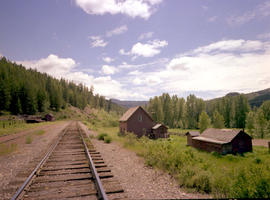 Canadian Pacific Railway section house at Kingsvale