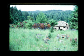 Abandoned Building  Queen Charlotte Islands