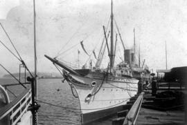 SS Empress of Japan at Vancouver.