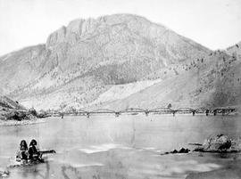 Spences Bridge, Cook's ferry, where gold was first discovered.
