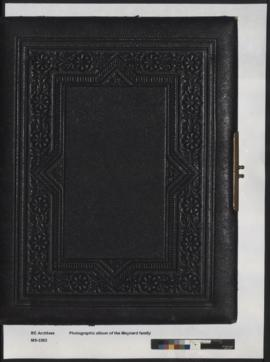 Photograph album of the Maynard family