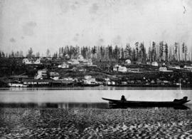 New Westminster waterfront, left half of two parts; see A-01594, HP003718 and A-01595, HP003719.