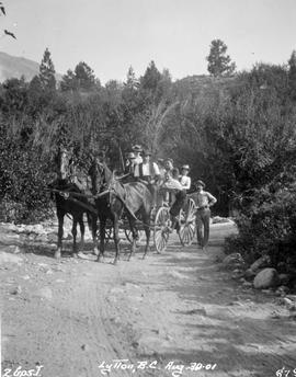 Two horse rig in Lytton.