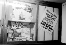 "Promotional Displays, Cjvi Victoria; ""Halo Everybody Halo, Theatre Of Romance And Singing Sw..."