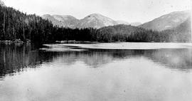 """Lowe Inlet Harbour, related to the Kumowdah River project, location eastern side of Granvil..."