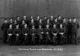 """28 Course, Pilots and Observers, 22.10.41""; box 3."