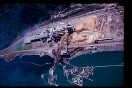 Castlegar Aerial Showing The Pulp Mill