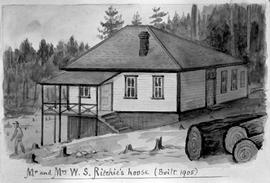 """Mr. and Mrs. W.S. Ritchie's house, built 1905."""