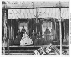 The Hurdy-Gurdies, Dutch-German dancing girls at Barkerville.