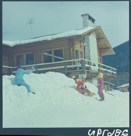 Ski Facilities At Tod Mountain, Kamloops