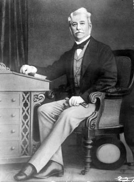 Arthur Edward Kennedy, Governor from 1864 to 1866.