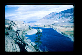 Thompson River Between Cache Creek And Spences Bridge