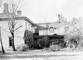 Cloverdale; once the home of Dr. and Mrs. William Fraser Tolmie.