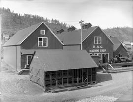 """B.A.C. Machine Shop""; Rossland."