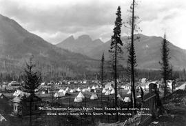 """The recreation grounds and Fernie annex, Fernie BC; one month after being swept clean by th..."