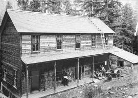 Boarding house at the Cork mine; Ainsworth