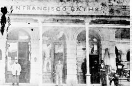 San Francisco Baths On Government Street, Victoria.