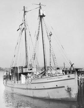The R.C.M. Police ship St. Roch