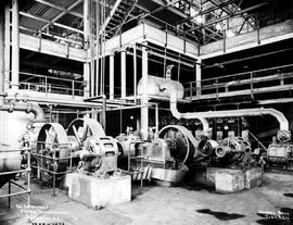 """Air compressors, CMS Co. concentrator, Kimberley, BC."""