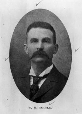 """W.W. Tuttle""; former mayor of Fernie."