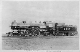 """A Canadian Pacific Railway passenger locomotive."""