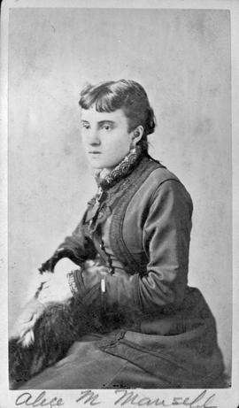 Alice M. Mansell, daughter of Mr. and Mrs. Henry Mansell.