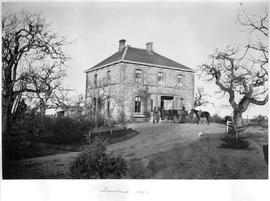 Fernwood, 1863; the Benjamin William Pearse residence in Victoria