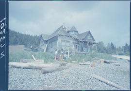 House In Skidegate Mission Queen Charlotte Islands