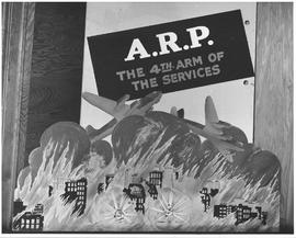 "Slogan used in public relations work of ARP ""A.R.P. the 4th arm of the services"""