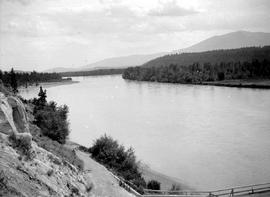 Kootenay River at Fort Steele.
