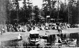 """The popular pleasure grounds, Gorge Park, Victoria, BC"""