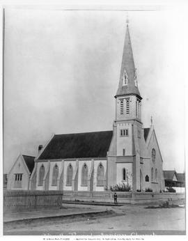 First Presbyterian Church, Victoria; Corner Of Pandora  And Blanshard Streets.