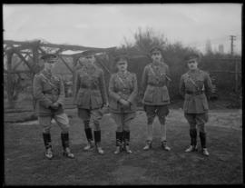 Major-General Leckie and Staff