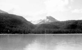 Swannell Survey; mountains seen from a body of water.