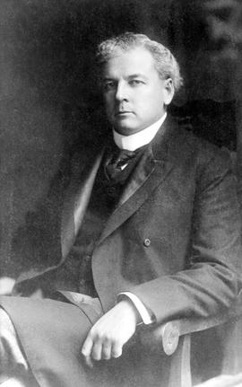 The Honourable Richard McBride, Premier of the province from 1 June 1903 to 15 Dec 1915