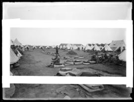 Soldiers relax at Willows Military Camp