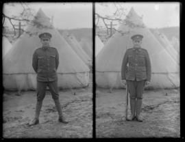 Portraits of Siberian Expedition Soldiers