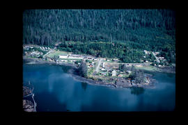 Aerial, Queen Charlotte City Queen Charlotte Islands