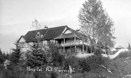 """Hospital, Port Simpson BC."""