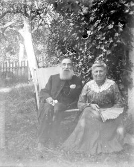 The Reverend and Mrs. Robert James Roberts.