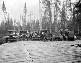 Chase. Adams River Lumber Co. Trucks And Equipment