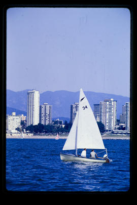 Sailing In English Bay, Vancouver