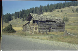 McInnis House near Alexandria, built by A.D. McInnis, approximately twenty miles south of Quesnel.