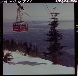 Winter Grouse Mountain Sky Ride N. Vancouver