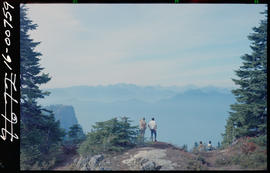 View From Mount Seymour, Vancouver.