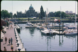 Inner Harbour And Legislative Buildings, Victoria