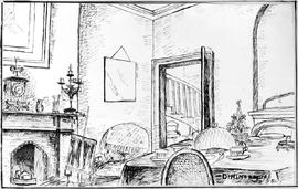 Dining Room [Clipstone While At School In England]