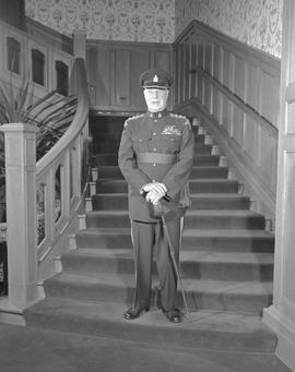 Lieutenant Governor G. R. Pearkes; Served From 1960 To 1968.